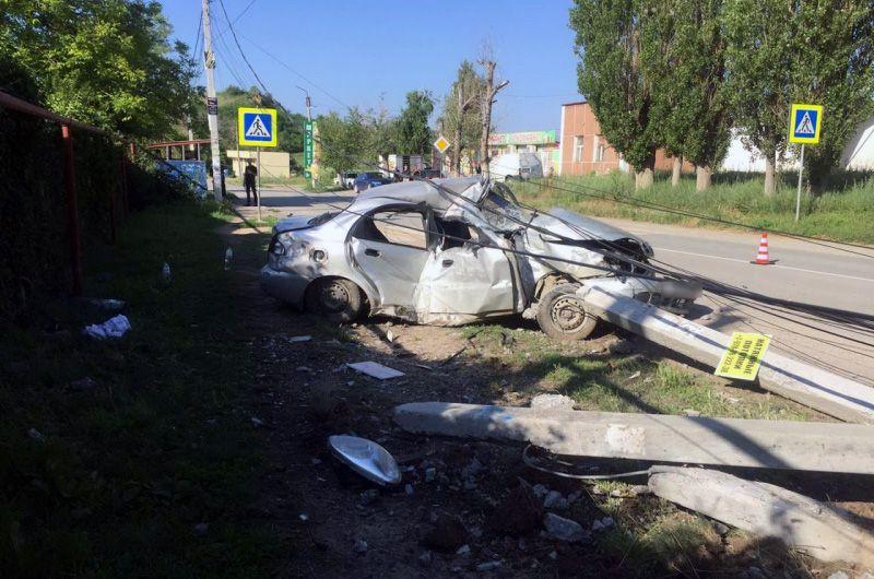 В Крыму полиция проводит проверку по факту двух ДТП, одно из которых — смертельное