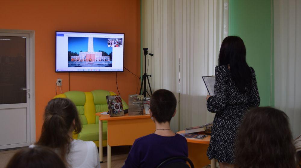 При поддержке Минкульта Крыма организована эстафета памяти «Так начиналась война…»