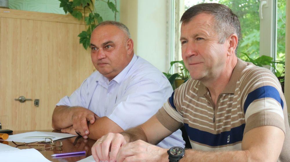 Красногвардейский район с рабочей поездкой посетил министр экологии и природных ресурсов Геннадий Нараев