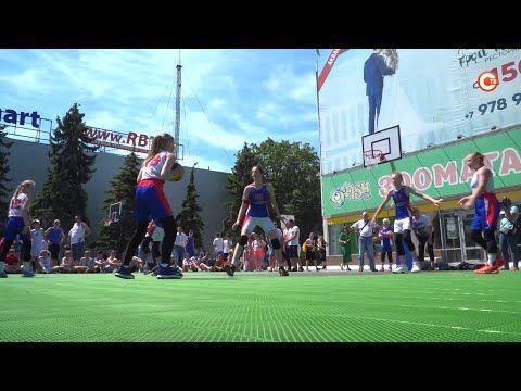 Спортивный клуб «Муссон» организовал состязания по стритболу в честь Всероссийского олимпийского дня (СЮЖЕТ)