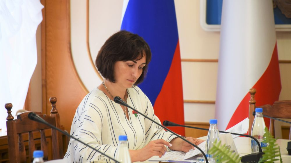 Лариса Кулинич выступила с докладом на очередном заседании профильного Комитета Государственного Совета РК