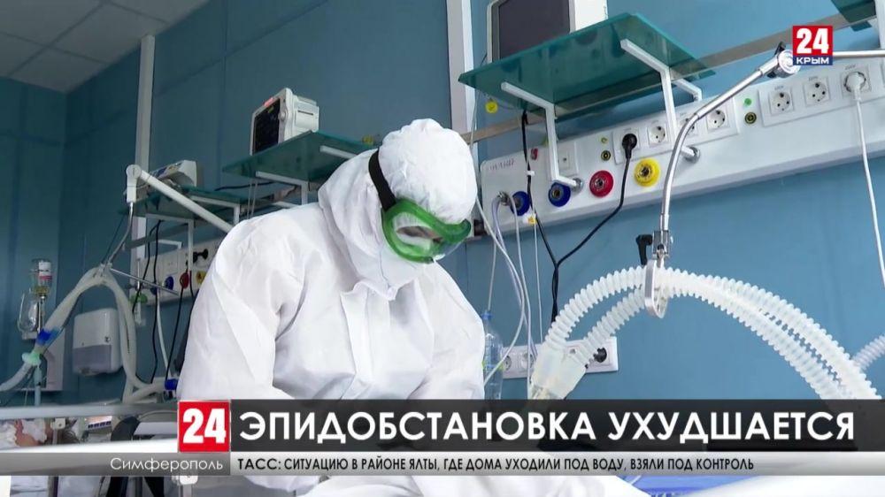 В Крыму на 30% выросло число заболевших COVID-19