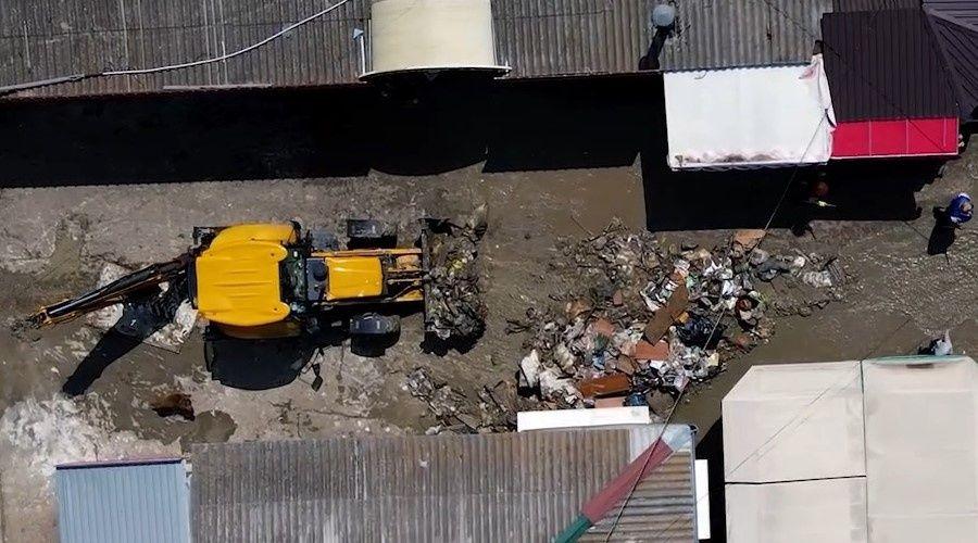 Расчистку Керчи после потопа планируют закончить сегодня