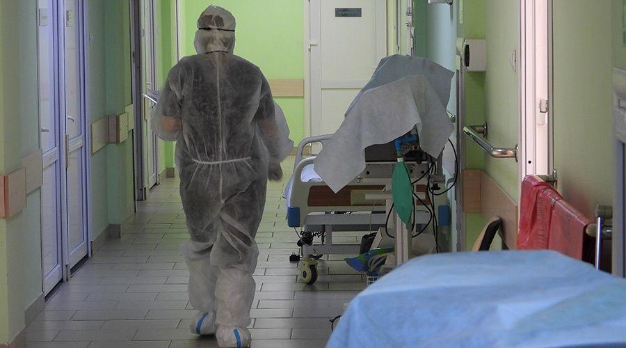 Больше 500 дополнительных коек развернули в Крыму для лечения больных COVID-19