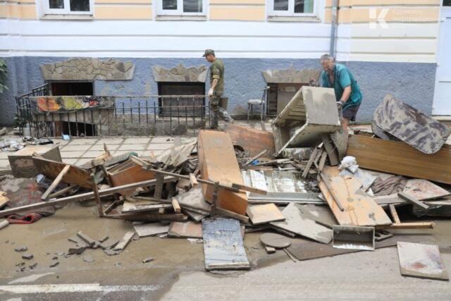 Оценку ущерба от наводнения в Крыму завершат к 28 июня