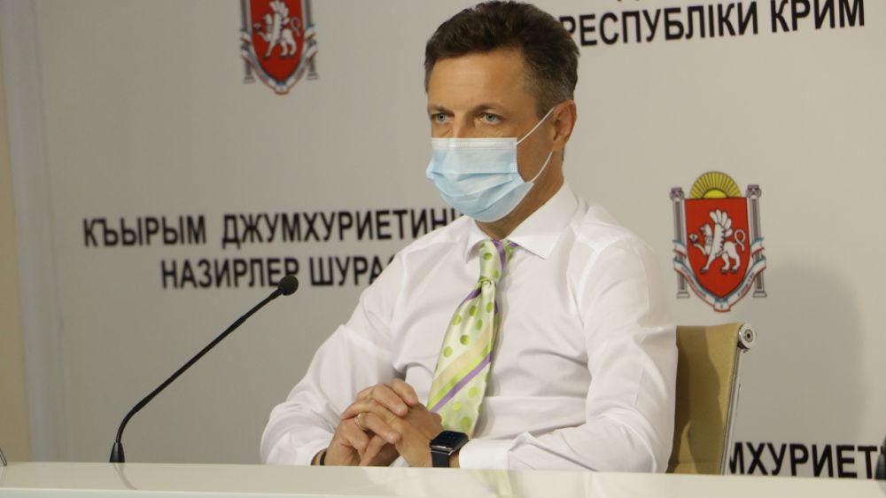 Александр Остапенко рассказал об актуальной информации с оказанием медицинской помощи больным COVID-19 и внебольничными пневмониями