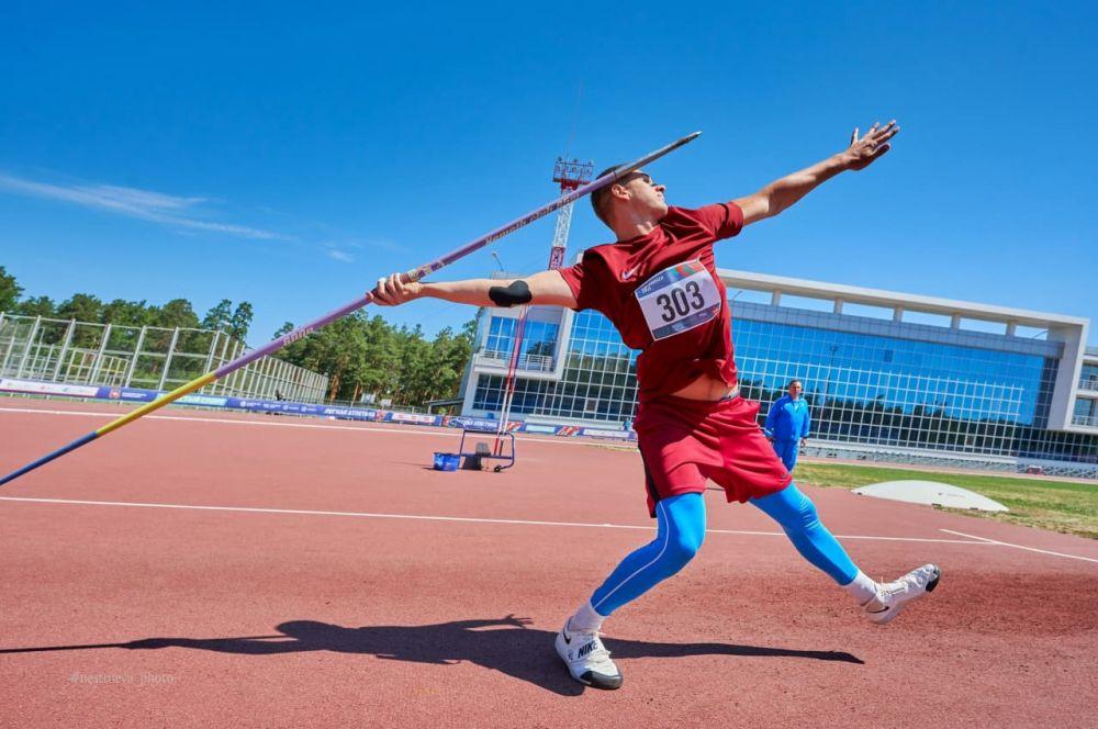 Крымские копьеметатели выиграли медали в Челябинске