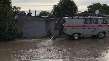 Информационная сводка о подтоплении в Керчи и Ялте от МЧС РК