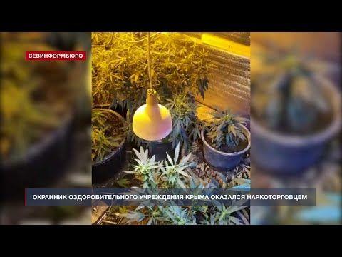 Охранник оздоровительного учреждения Крыма оказался наркоторговцем