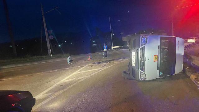 Авария с автобусом подростков в Крыму - что известно на данный момент