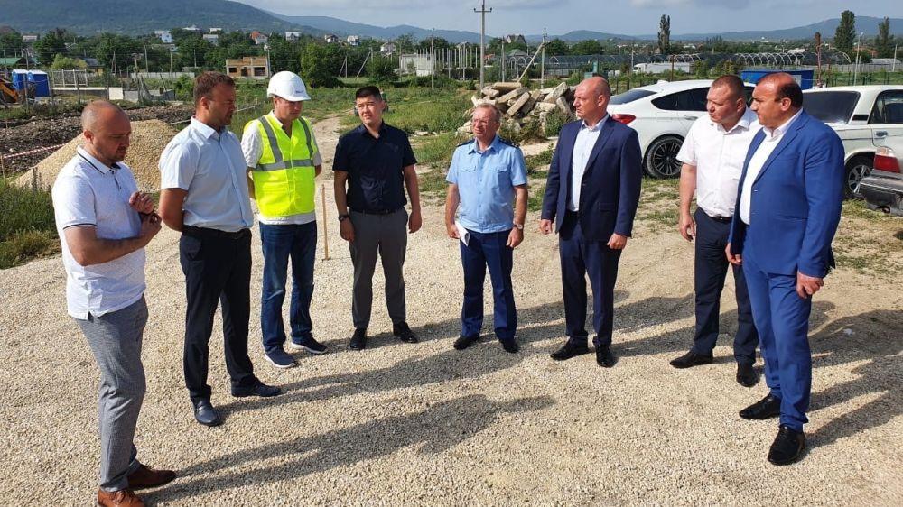 Село Заречное с рабочим визитом посетил полномочный представитель Президента РФ в Южном федеральном округе Александр Ушаков