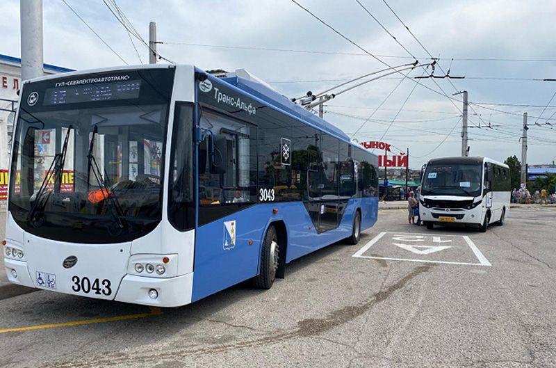 В Севастополе часть общественного транспорта заработала по оптимизированной схеме