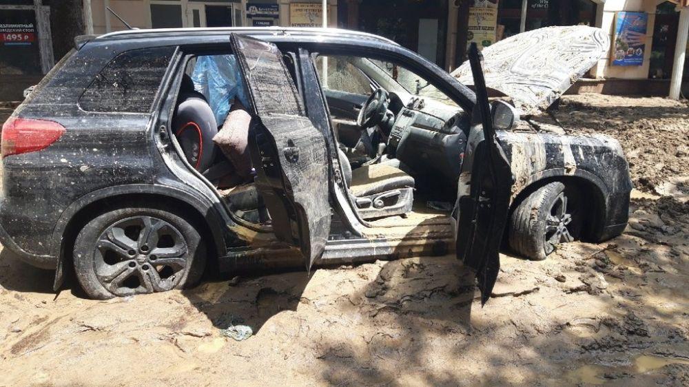 Информация для граждан, чьи автомобили пострадали в результате ЧС