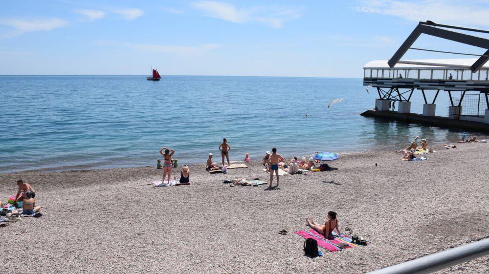 С понедельника пользователи ялтинских пляжей начнут самостоятельно мониторить качество воды
