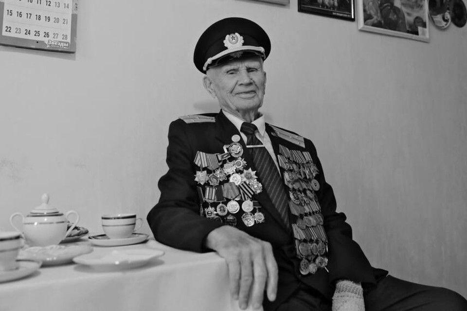 Из жизни ушел 97-летний ветеран Иван Робак, освобождавший Крым в годы войны