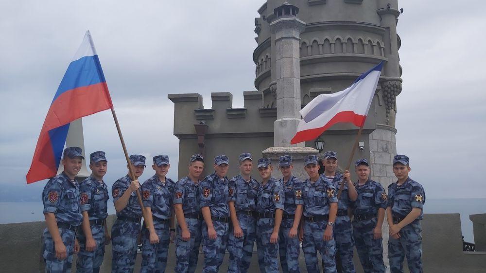Во Дворце-замке «Ласточкино гнездо» проведено мероприятие для военнослужащих Росгвардии