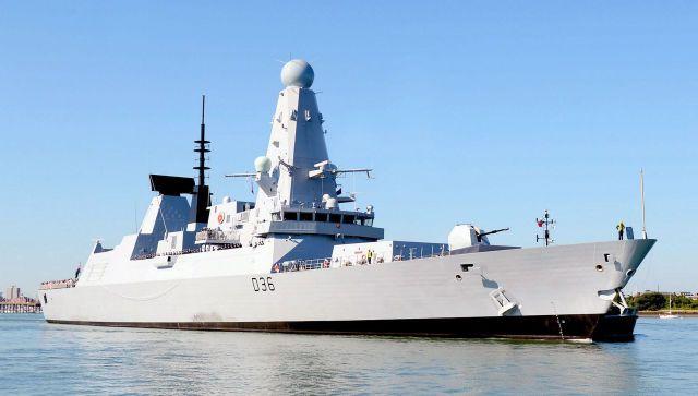 На британском эсминце находился украинский спецотряд