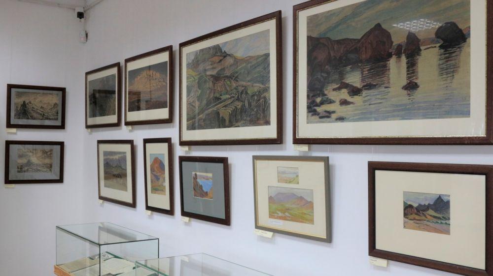При поддержке Минкульта Крыма представлена выставка «Киммерийские берега Максимилиана Волошина»