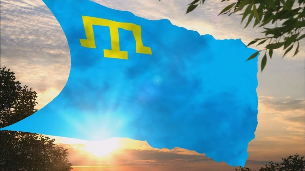 Поздравление руководства Сакского района с Днем крымскотатарского флага!
