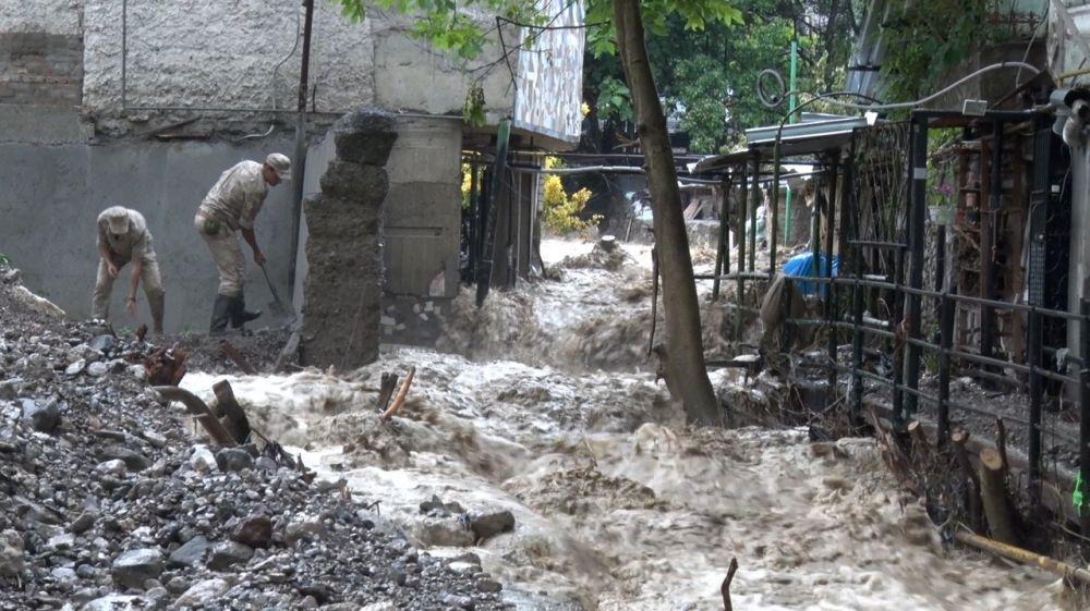 Последствия разгула стихии в несколько раз меньше, чем при наводнении 18-го июня