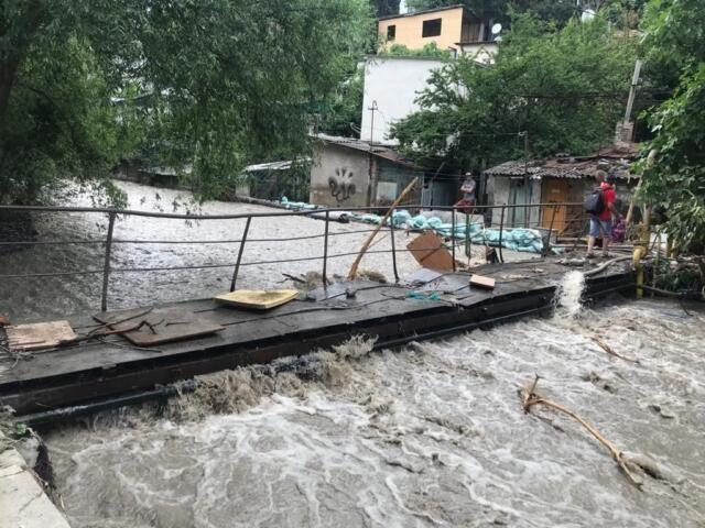 В Ялте выросло число пострадавших от стихии