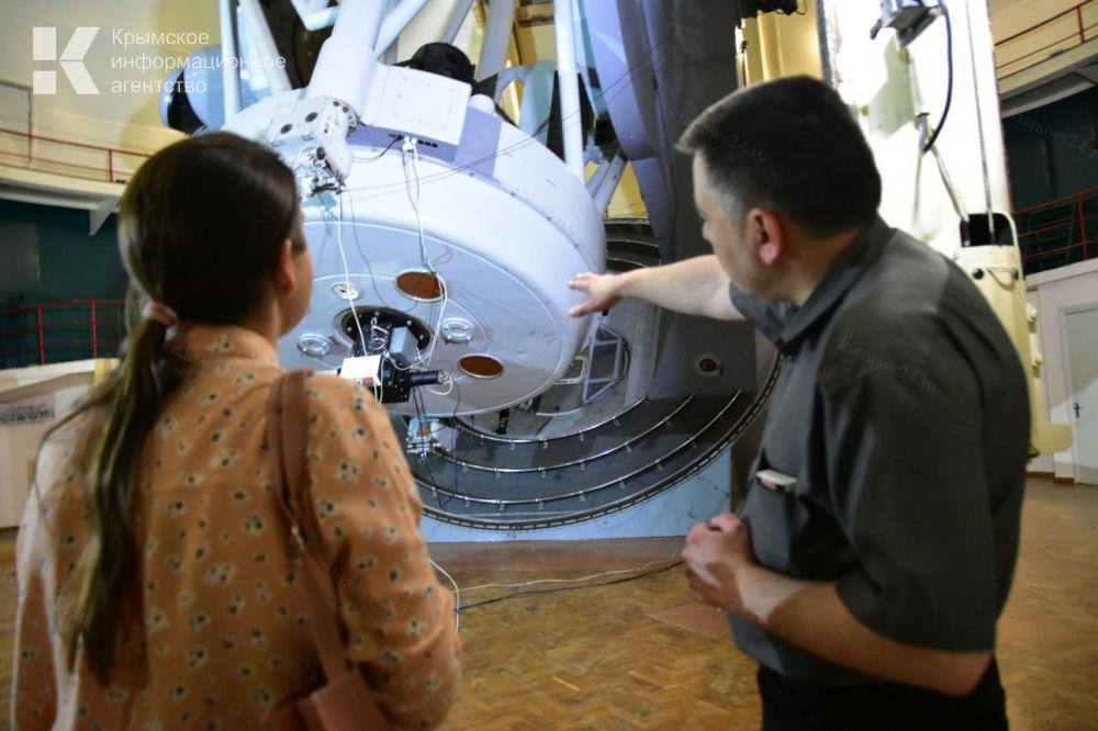 В Крыму восстанавливают уникальный телескоп