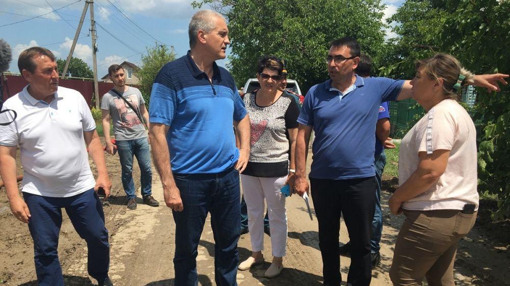 Сергей Садаклиев в составе рабочей Правительственной группы посетил с проверкой подтопленные регионы