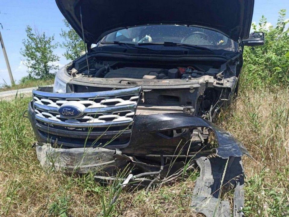 Девушка-водитель врезалась в «Мазду» по дороге в Николаевку