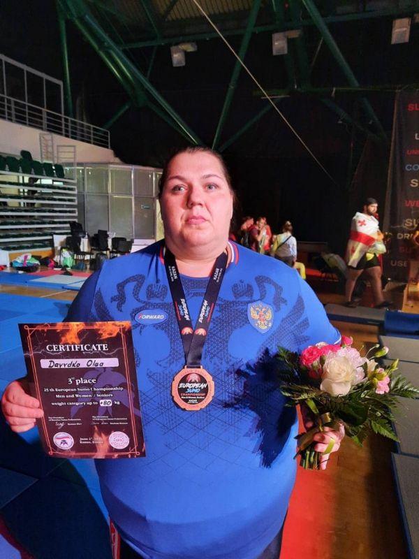 Крымские сумоисты завоевали шесть медалей на чемпионате Европы