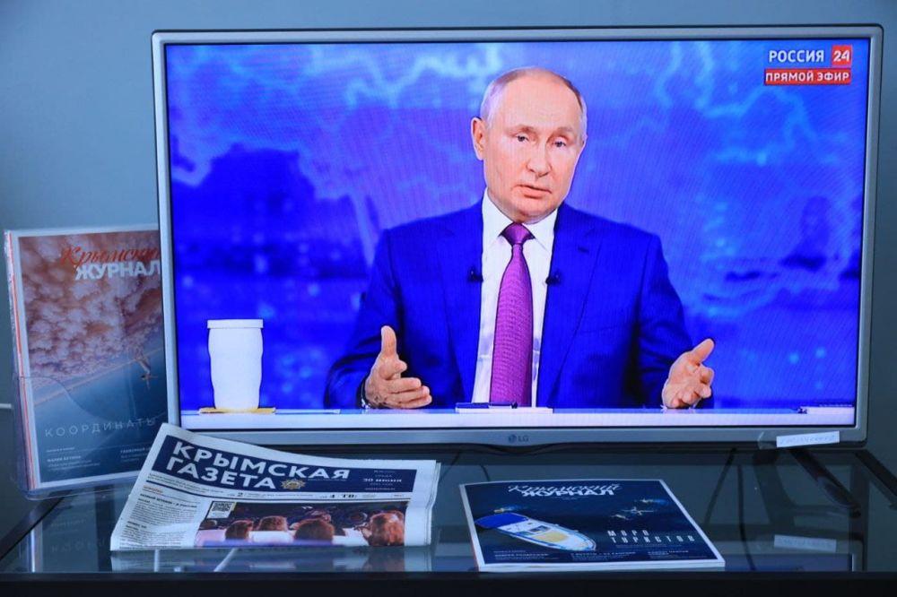 Президент РФ заявил, что не считает украинский народ недружественным.