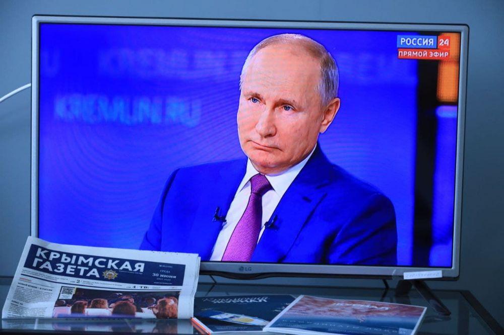 Путин поделился подробностями об инциденте с британским эсминцем