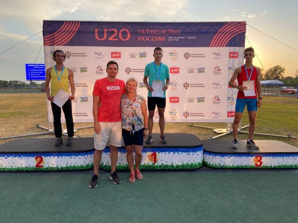 Крымчанин выиграл бронзу первенства России по легкой атлетике