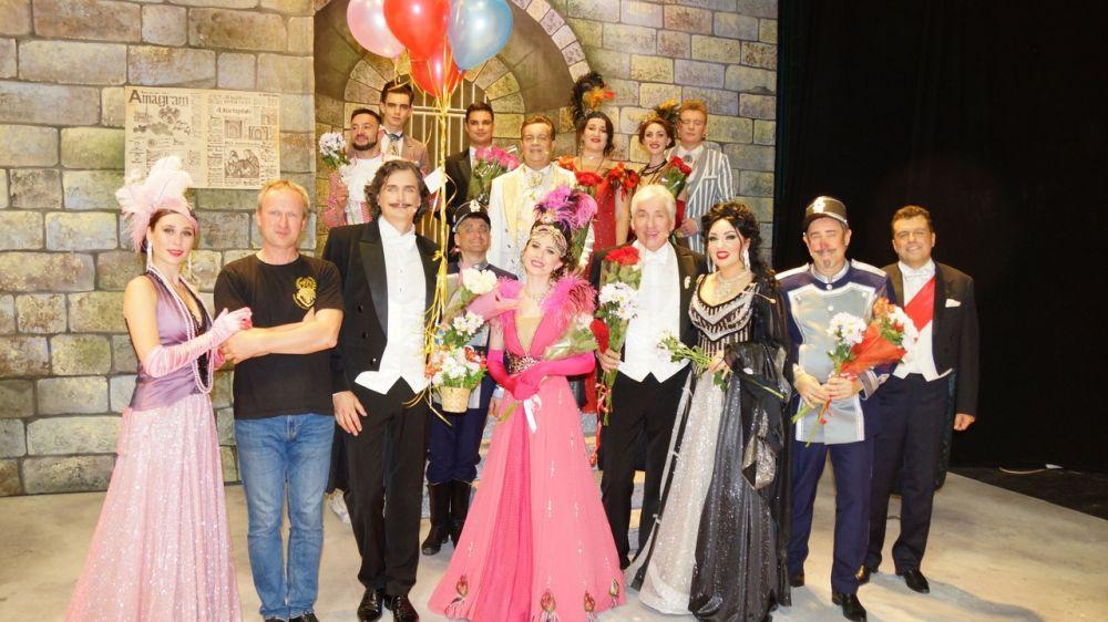 В Липецке с успехом состоялись гастроли Государственного академического музыкального театра Крыма