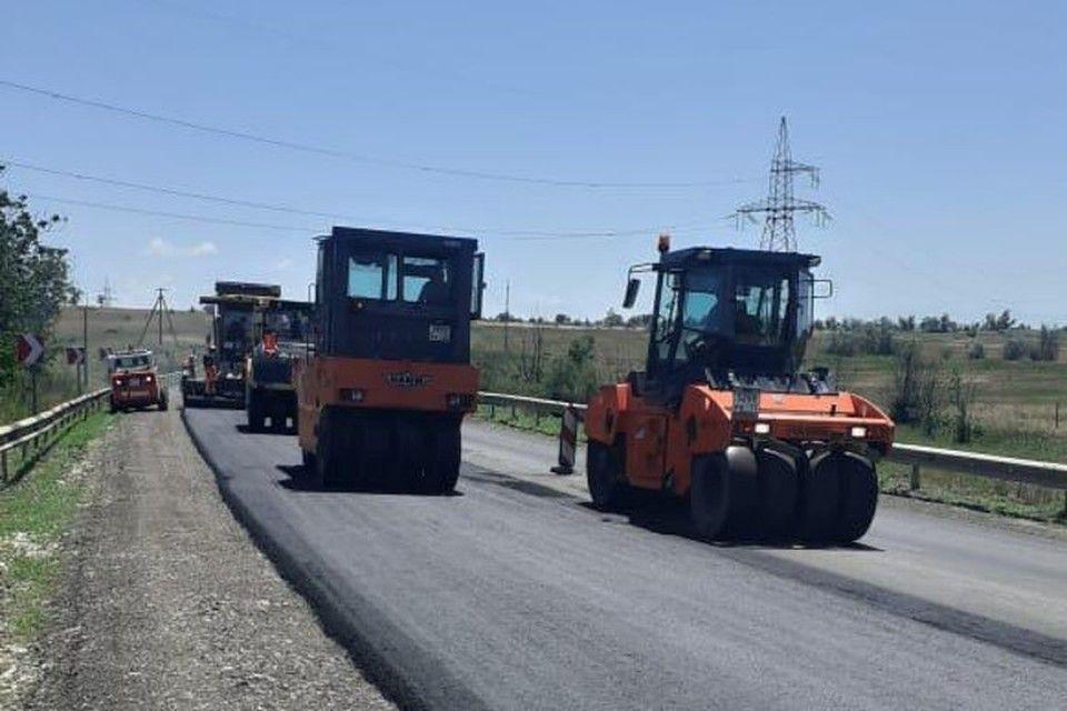 Дорогу от Симферополя до Евпатории отремонтируют к середине июля