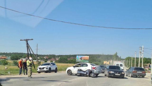 Два мото-ДТП произошли в Крыму за сутки: один человек погиб