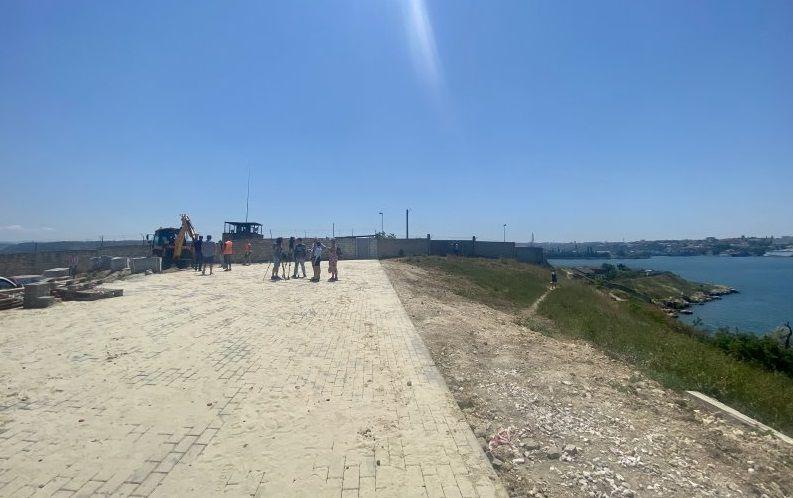 На Северной стороне Севастополя появится благоустроенная смотровая площадка
