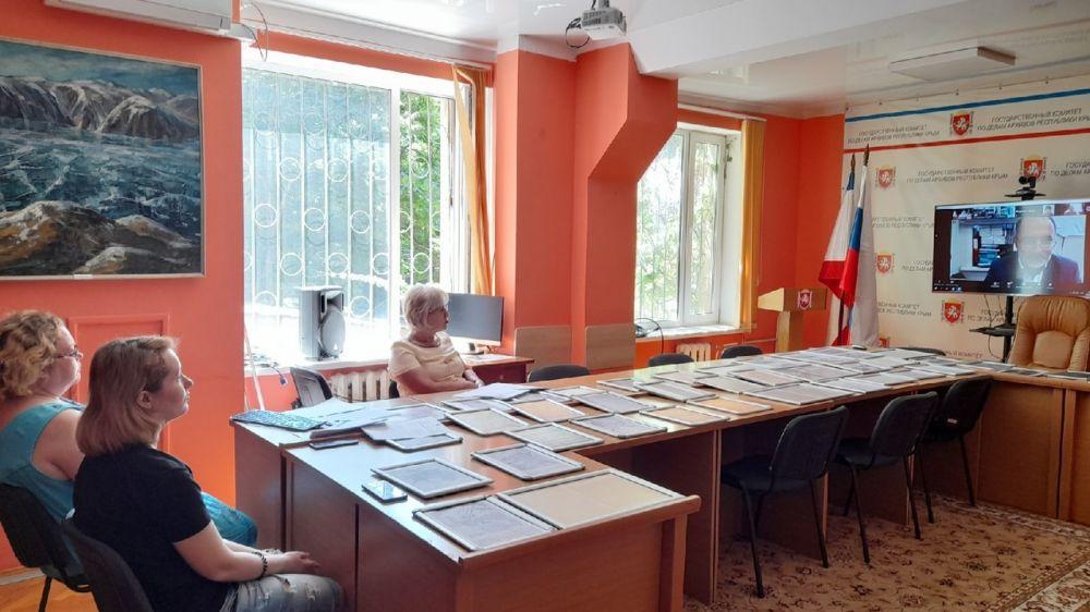 Продолжается сотрудничество крымских архивистов с Главным архивным управлением Московской области