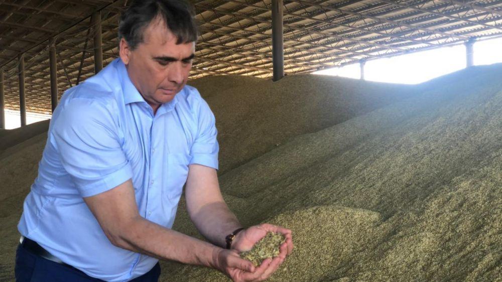 С начала уборочной кампании крымские аграрии убрали 72 тысячи гектаров площади