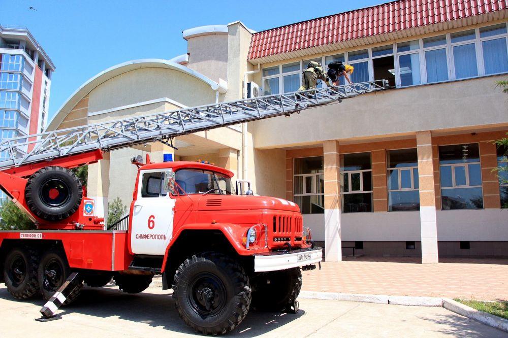 Пожарно-тактические учения как важнейшая составляющая противопожарной безопасности образовательных учреждений