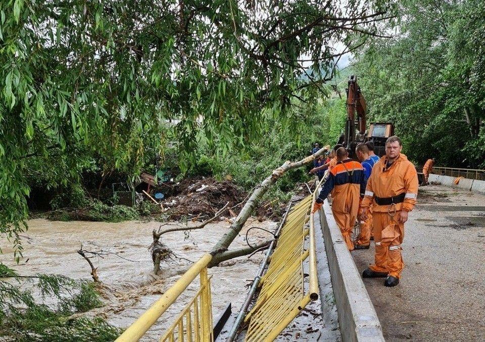 Как топило Крым: Бахчисарай и Ялта ушли под воду во время дождя