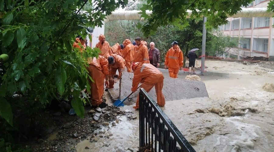 Один человек пропал без вести в Бахчисарайском районе во время ливня