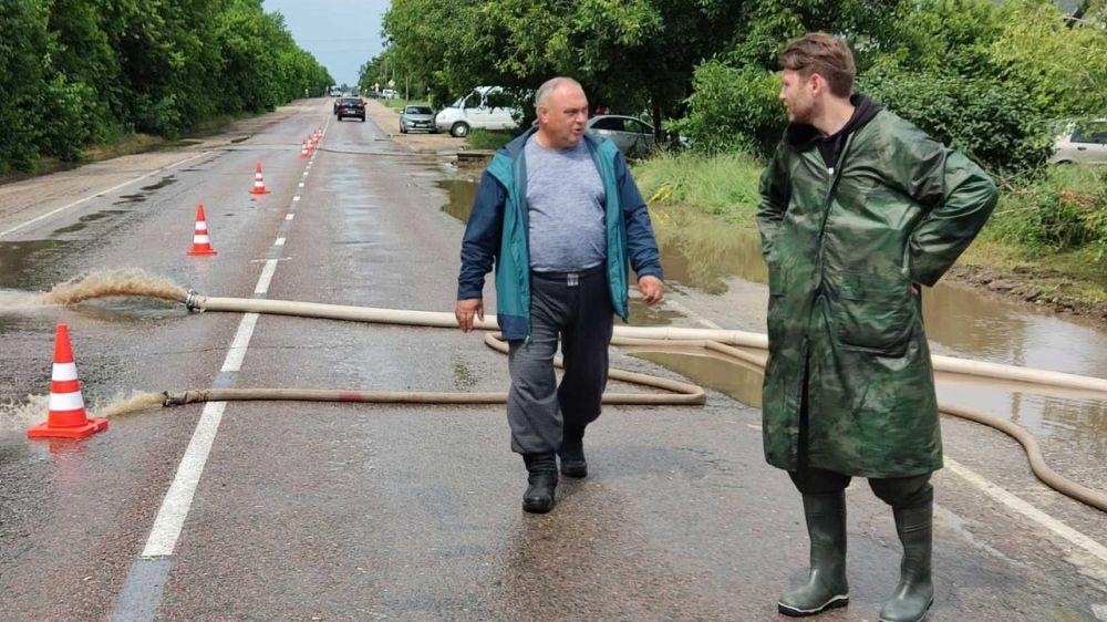 Василий Грабован: На данный момент все очаги подтопления ликвидированы! Штаб продолжит работу в круглосуточном режиме!