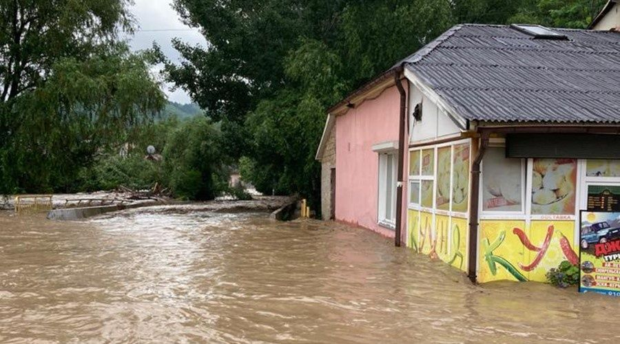 Режим ЧС ввели в Бахчисарайском районе из-за паводка