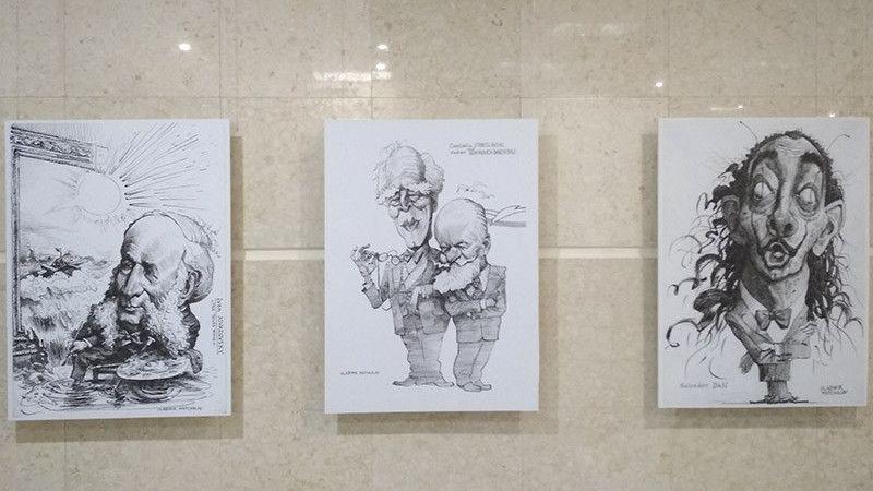 Вернисаж выставки Владимира Мочалова «Карикатура. Шаржи» состоялся в Симферополе