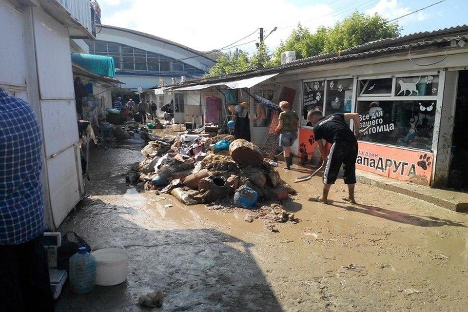На компенсации предпринимателям Керчи после потопа нужно около 70 миллионов рублей