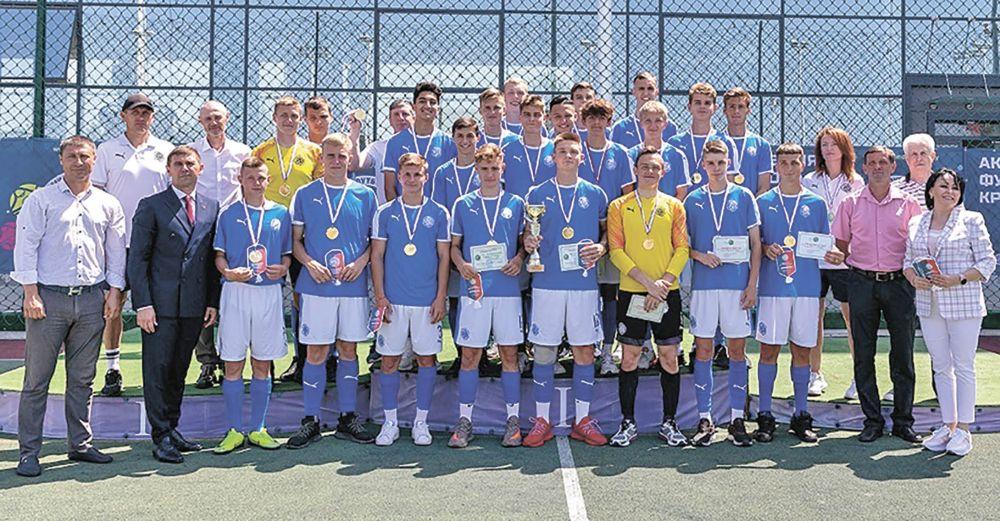 Академия футбола Крыма выпустила первых воспитанников