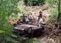 Спасатели 5 часов доставали из реки машину белорусских туристов