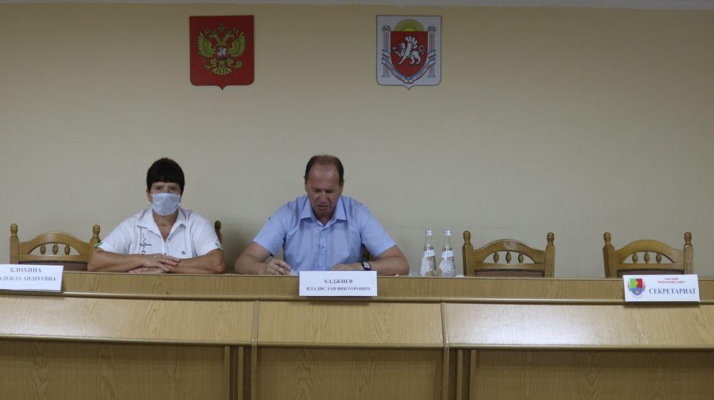 Состоялась внеочередная сессия Сакского районного совета