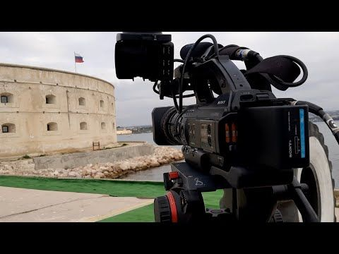 Как Севастопольское телевидение организовывает прямые трансляции с места событий? (СЮЖЕТ)