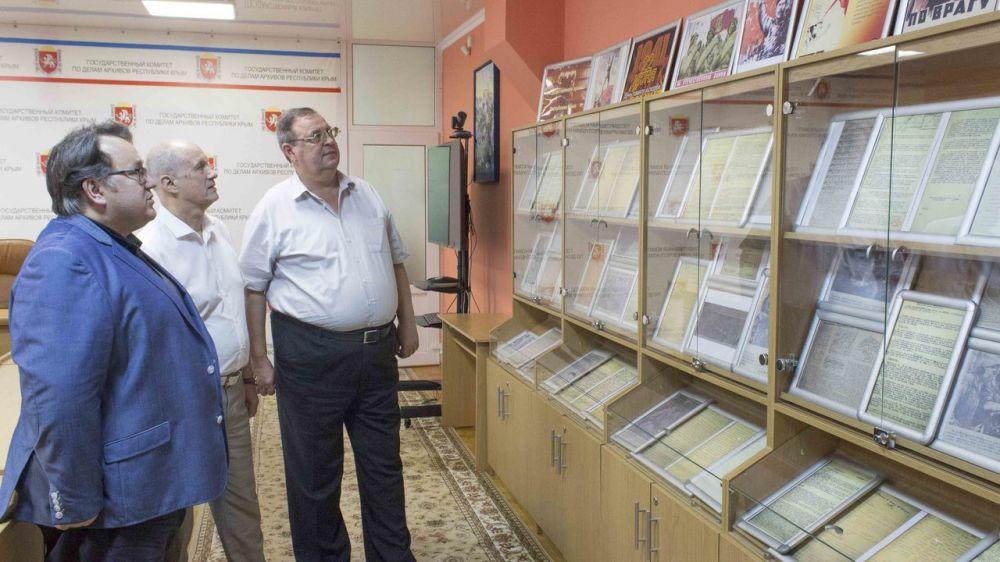 Олег Лобов провёл рабочую встречу с первым проректором Крымского федерального университета имени В.И. Вернадского